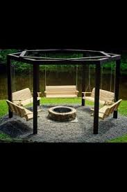 Swing Fire Pit by 33 Hammock Ideas Adding Cozy Accents To Outdoor Home Decorating