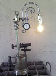 edison light upcycled vintage blow torch lamp by