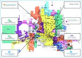 Phoenix Map by Development Of A Metropolitan Matrix Of Primary Stroke Centers