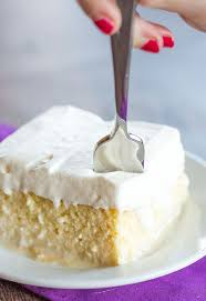 tres leches cake recipe awesome cakes and cream