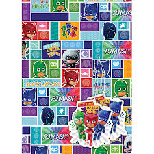 tmnt wrapping paper pj masks party supplies product categories kids themed party