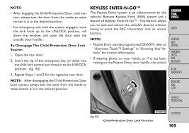 Fiat Freemont Specs Keyless Enter N Go Fiat Freemont User Manual Page 111 352