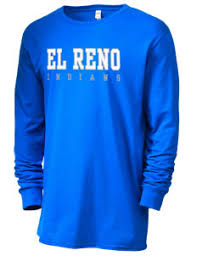 high school senior t shirts el reno senior high school indians men s t shirts prep sportswear