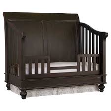 Toddler Bedding For Convertible Cribs by 4 In 1 Convertible Baby Crib Oak Finish