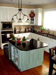 White Kitchen Cabinets With Black Countertops Wood Floor Kitchen Kitchen Dining Designs With Natural Wood Dinning Set And