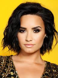 long bob hairstyles brunette summer demi lovato just got the perfect late summer hair color change