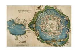 map of the gulf of mexico map of tenochtitlan and the gulf of mexico from praeclara