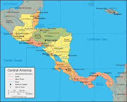 south america map belize central america map and satellite image