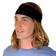 mens headband kooshoo hu black headband for men ecofriendly black