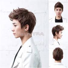 popular hair colour for korean 2014 new cr popular 4 color handsome boys wig korean fashion men s
