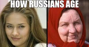 Russian Girl Meme - how russian girls age weknowmemes