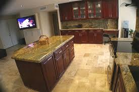 Maple Artesian Rosewood Stain Wood Custom Kitchen Cabinets - Rosewood kitchen cabinets