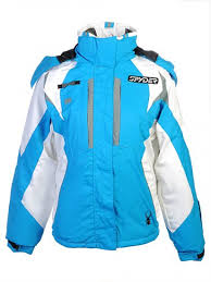 spyder windproof ski snowboard jackets outlet womens blue spyder