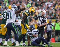 Football Penalty Flags Three Thoughts From The Seahawks U0027 17 9 Loss To The Packers The