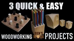 Easy Woodworking Projects For Gifts by 3 Easy Woodworking Projects Christmas Gifts Youtube