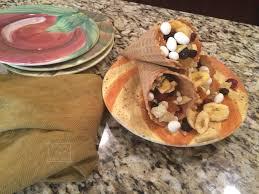 cute easy thanksgiving desserts cornucopia treats