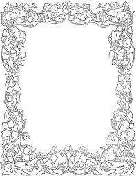 Decorative Frame Png Ivy Clipart Decorative Pencil And In Color Ivy Clipart Decorative