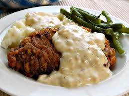country fried steak white gravy