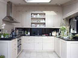 White Kitchen Cabinets With Black Granite Countertops Design Ideas For Kitchens With White Cabinets