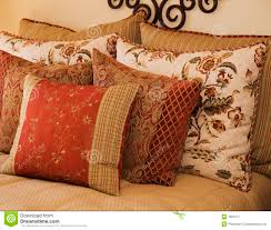 luxury bedding luxury bedding and cushions royalty free stock photography image
