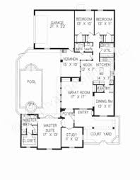 courtyard home floor plans house plans with courtyard luxury baby nursery house plans with