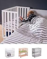 Bed Side Cribs Babybay Bedside Cot Original Babybay Original Co Baby