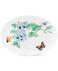 butterfly platter lenox butterfly meadow large oval platter dinnerware dining