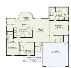 ranch split bedroom floor plans including house open plan mo