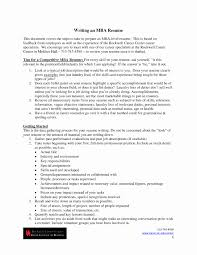 mba resume example resume format for mba finance freshers pdf
