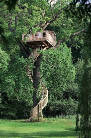 25 best treehouse images on the tree tree house plans