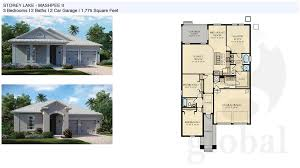 3 bedroom floor plan storey lake floor plans