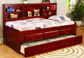 daybed bookcase merlot finish twin