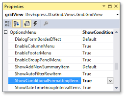 xtragrid layout view tutorial conditional formatting data grid winforms controls