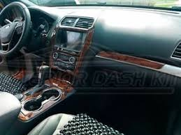 ford explorer trim ford explorer xlt sport limited interior wood dash trim kit set
