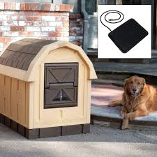 Dog Igloo Homemade Igloo Dog House Heater Noten Animals Intended For Small