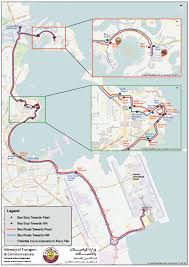 Bus Route Map Public Transportation Updates