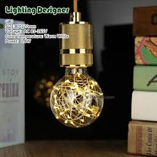 copper globe string lights g80 copper wire led bulb string lights night lights holiday light