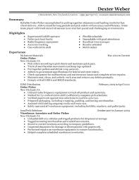 Ware House Resume To Resume Resume For Your Job Application