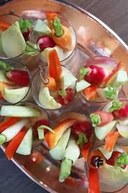 individual hummus and crudites appetizers popsugar food