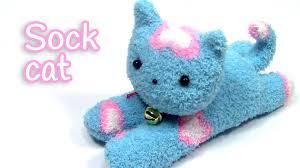 diy crafts sock cat innova crafts youtube