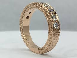 how much to engrave a ring a engraved gold pave diamond ring from scratch