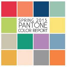 pantone color report pantone color report spring 2013