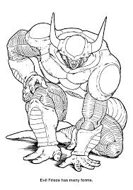 coloring page dragon ball z coloring pages 49