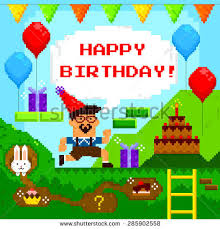 retro birthday card stock images royalty free images u0026 vectors