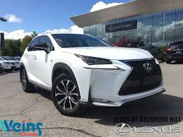lexus nx200t price used used 2016 lexus nx 200t for sale richmond hill on