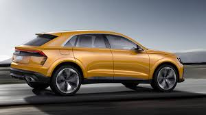 suv audi audi q8 sport concept previews coupe shaped suv in geneva autoweek