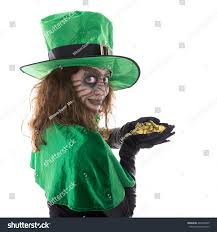 portrait green goblin isolated on stock photo 482678209