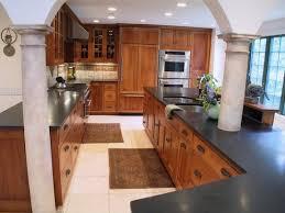 oak cabinets kitchen oak cabinets black granite marble countertops kitchen
