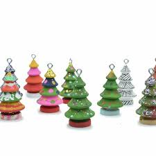 Wooden Toy Christmas Tree Decorations - paintable christmas tree ornaments u2013 little sapling toys