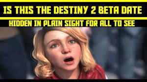 Beta Meme - destiny 2 beta release date was hidden in plain sight at the reveal
